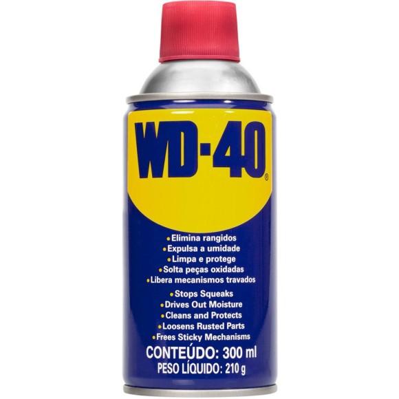 Spray Multi Uso Desemgripante Elimina Rangidos Protetor de 300ML WD-40 - 40018899