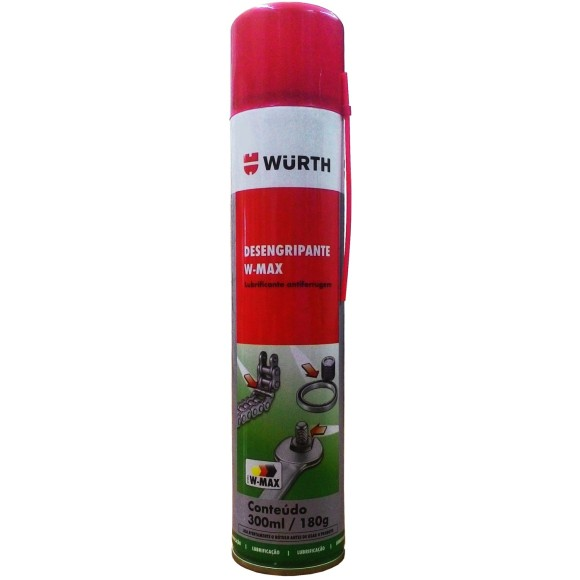 Óleo Desengripante Lubrificante Antiferrugem W-MAX WURTH - 340847