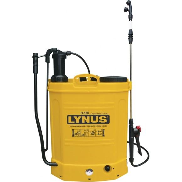 Pulverizador Manual à Bateria Lynus PL-18B, 18 Litros