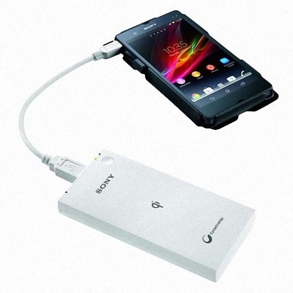 Carregador Sem Fio Wireless SONY CP-W5 5000mah