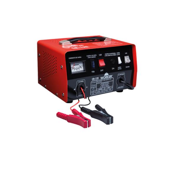 Carregador de Bateria Portátil 220V CB-13S- WORKER