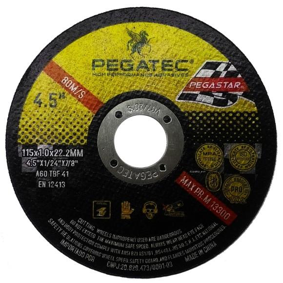 Disco de Corte PEGATEC A60 TBF 41 4,5