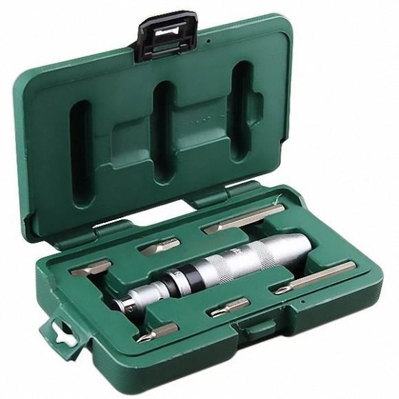 Chave de Impacto Manual e Bits com 8 Peças SATA - ST09602SJ
