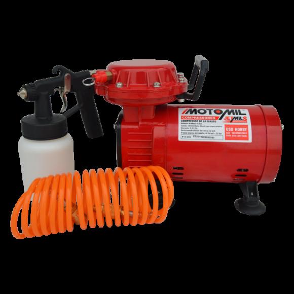 Motocompressor de Ar Direto Jetmil 1,3CV Bivolt 38411.2- Motomil