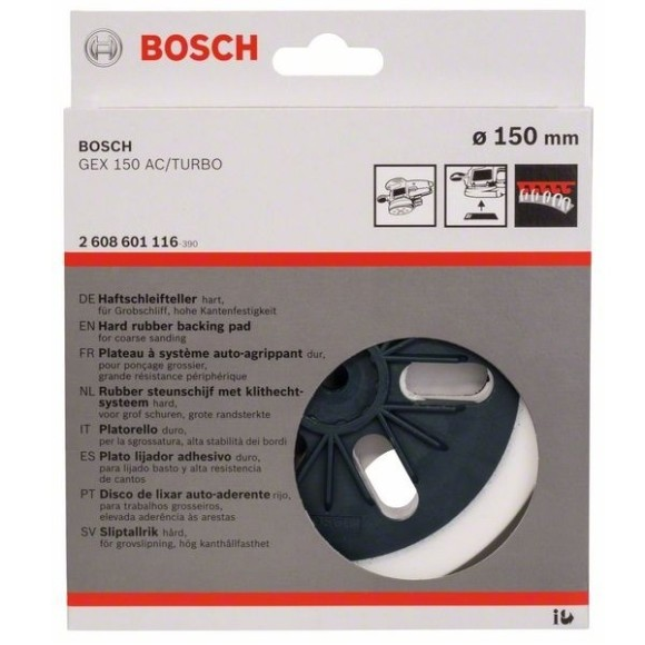 Base Disco para Lixadeira GEX 150 - 6