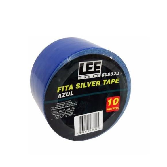 Fita Silver Tape 10 Metros Azul Lee Tools