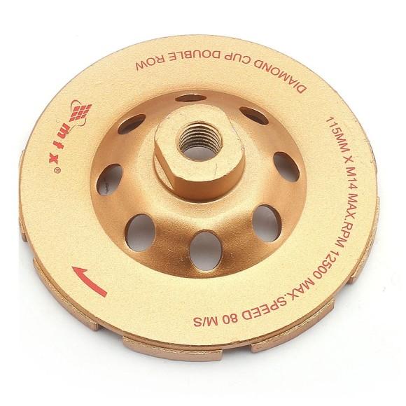 Disco de Desbaste 4.1/2 Pol 115 MM Segmentado Turbo Diamantado MTX