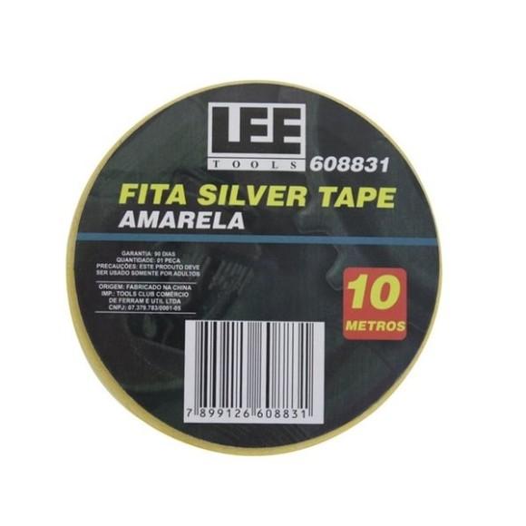 Fita Silver Tape 10 Metros Amarela Lee Tools