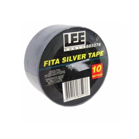 Fita Silver Tape 10 metros Cinza Lee Tools