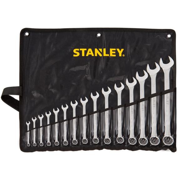 Jogo de chaves combinada 6 a 32mm 15 peças STMT80934-840 - Stanley