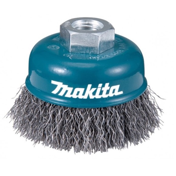Escova De Aço Tipo Copo 60mm Makita - D-55099