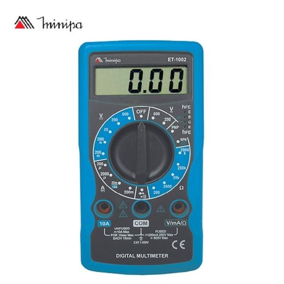 Multímetro Digital Portátil Minipa - ET- 1002