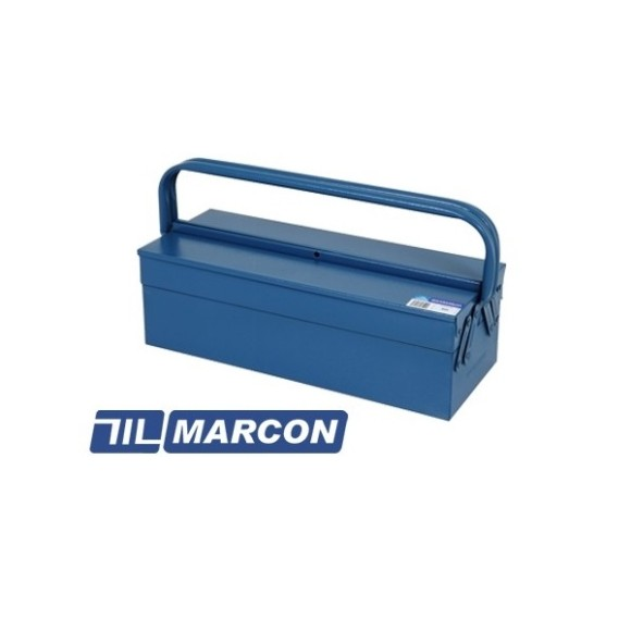 Caixa Maleta Metálica de Aço Para Ferramentas Com 3 Gavetas MARCON - 350