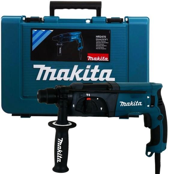 Martelo Rotativo Combinado 1/2 Pol. 800W 110V C/Maleta MAKITA - HR2470