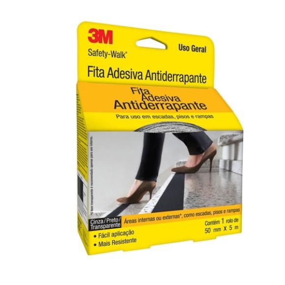 Fita Antiderrapante Safety Walk Transparente 50mm x 5mt- 3M