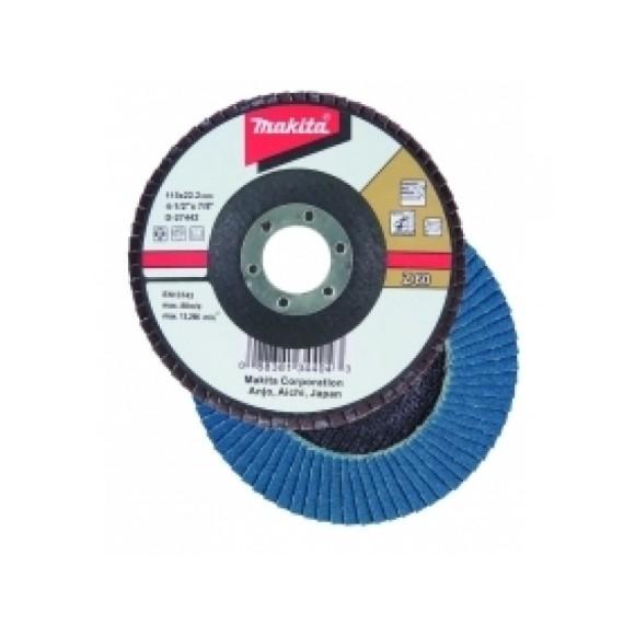 Disco Flap 115m 4-1/2 Grao Z60 Makita D-63753 C/10 UNIDADES