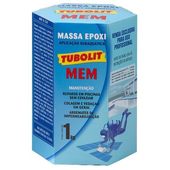 Massa Epóxi Bi-Componente para Aplicação Subaquática Piscina MEM-Tubolit
