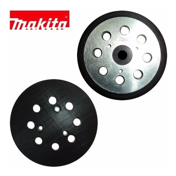 Disco de Borracha com Velcro 743081-8 P/ Lixadeira Roto Orbital Makita