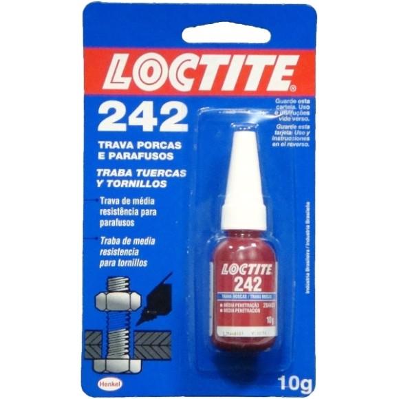Trava porcas e parafusos 242 10g - Loctite