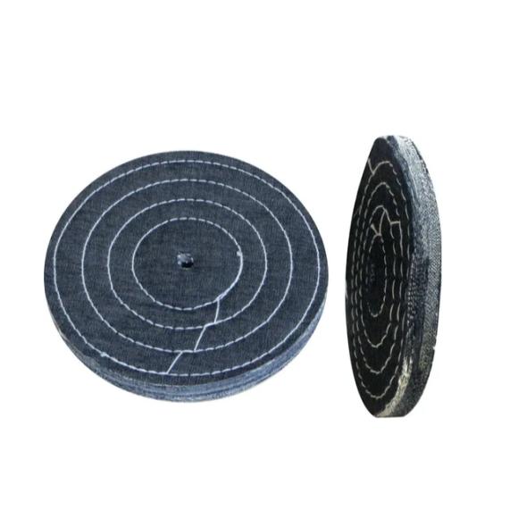 Roda de Pano Jeans Polimento Espelhamento 300mm
