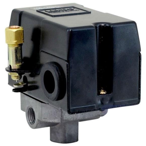 Pressostato Para Compressor 4 Vias 100-140 Psi ATM013 Pressure