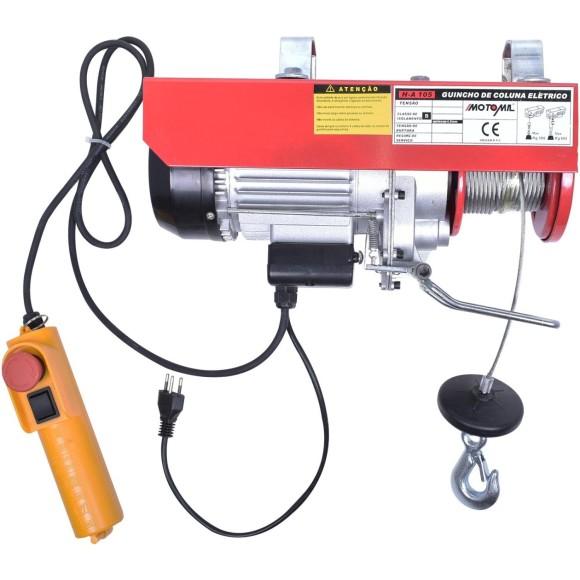 Guincho de Coluna Elétrica 220V Profissional 300 a 600Kg- H-A105-MOTOMIL