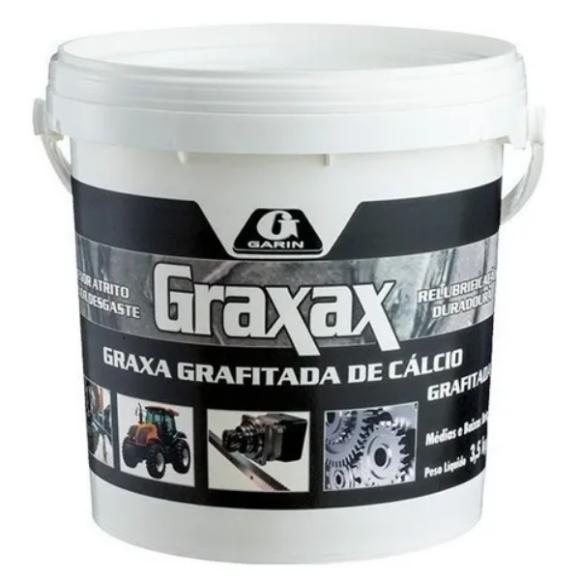 Graxa grafitada de cálcio Graxax 3,5KG - Garin