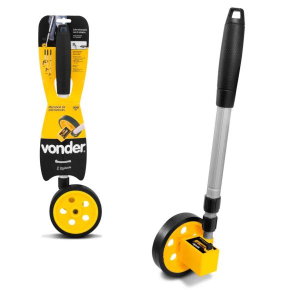 Medidor e totalizador de distância com roda 38.41.000.999 - Vonder