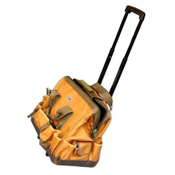 Bolsa para Ferramentas com 19 Bolsos e Carrinho 691963 - Lee Tools