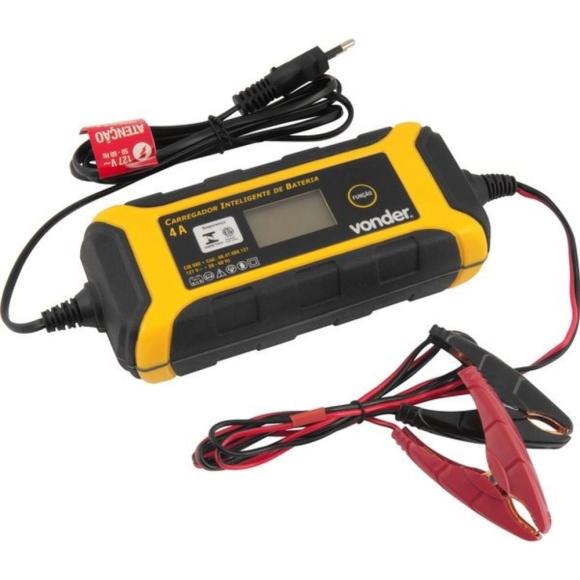 Carregador inteligente de bateria 220 V~ CIB 080 68.47.080.220 - Vonder