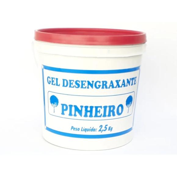 Gel desengraxante rosa  2,5kg - Pinheiro