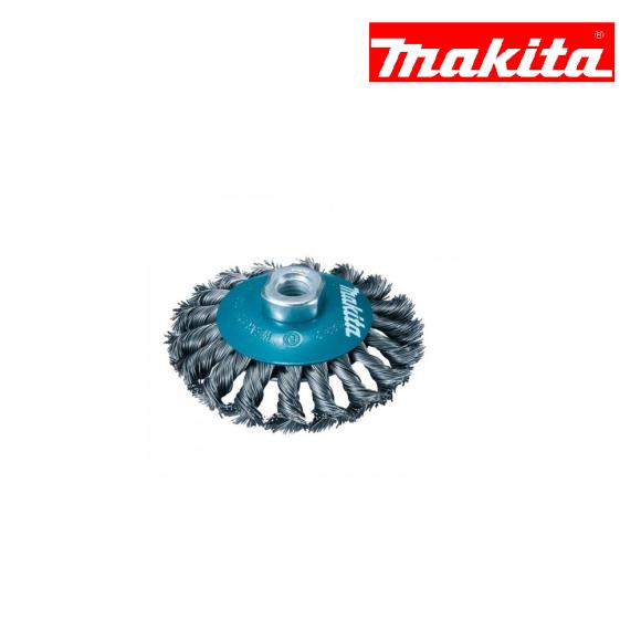 Escova de aço tipo cônica 115mm M14 D-55413 - Makita