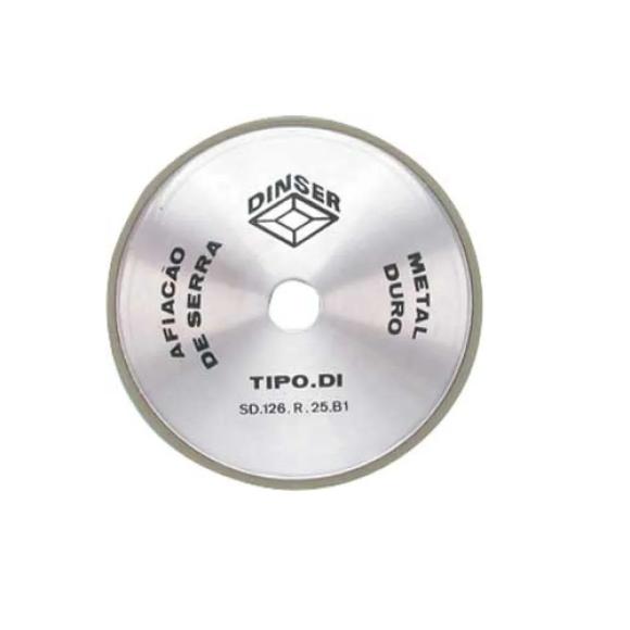 Rebolo diamantado para afiação de serra tipo 4A2R - Dinser