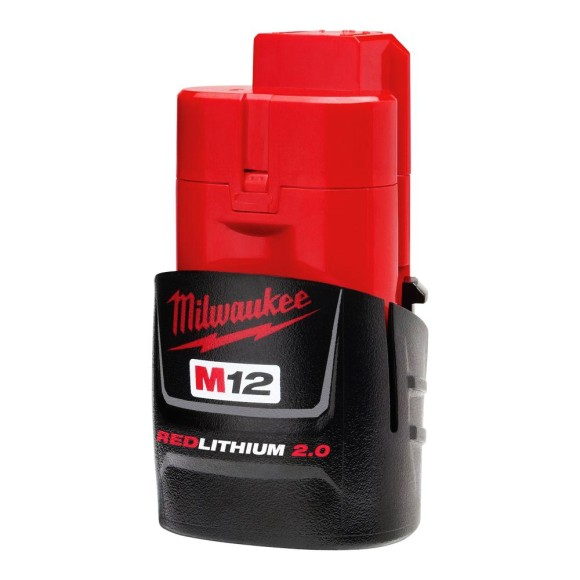 Bateria M12 2 Amperes 12 Volts Milwaukee - 48-11-2659