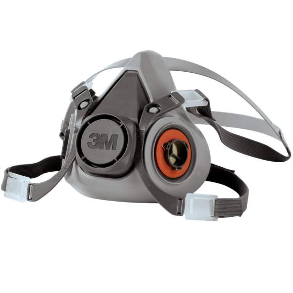 Respirador Reutilizável Semifacial 3M Série 6200 Tamanho médio - 3M