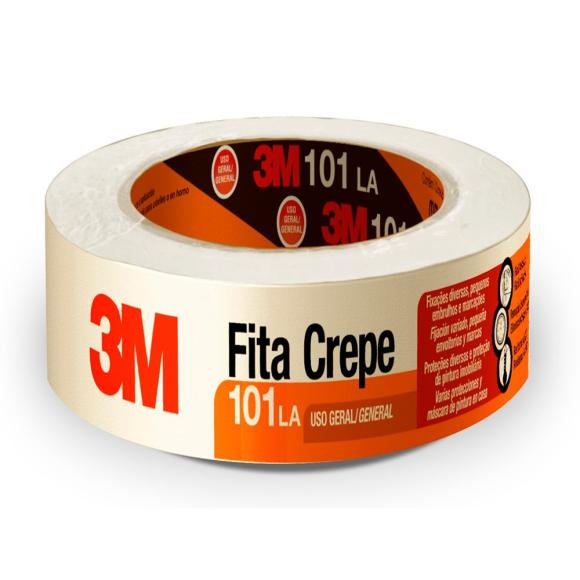 Fita Crepe 3M™ 101LA 1 Rolo de 48 mm x 50 m - 3M™