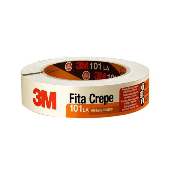 Fita Crepe 3M™ 101LA 1 Rolo de 24 mm x 50 m - 3M™
