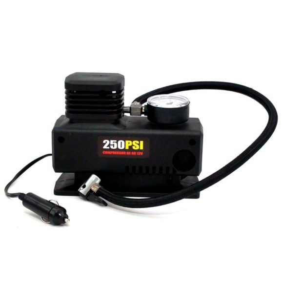 Compressor de Ar Mini 12V 250 PSI LEETOOLS - 682954