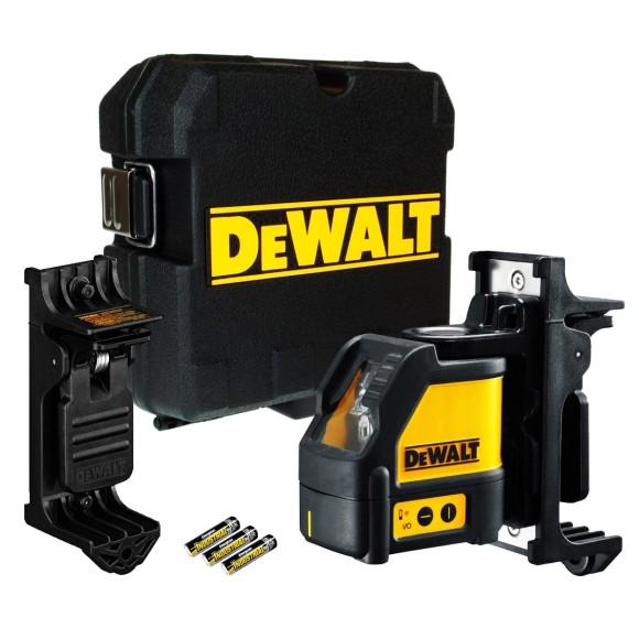 Nível a laser automático com alcance de 15 metros c/Maleta DEWALT - DW088K