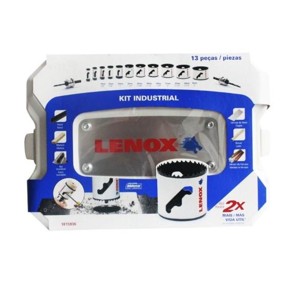 Kit de Serra Copo Industrial Lenox - 13 peças 19 à 76mm - 1815936