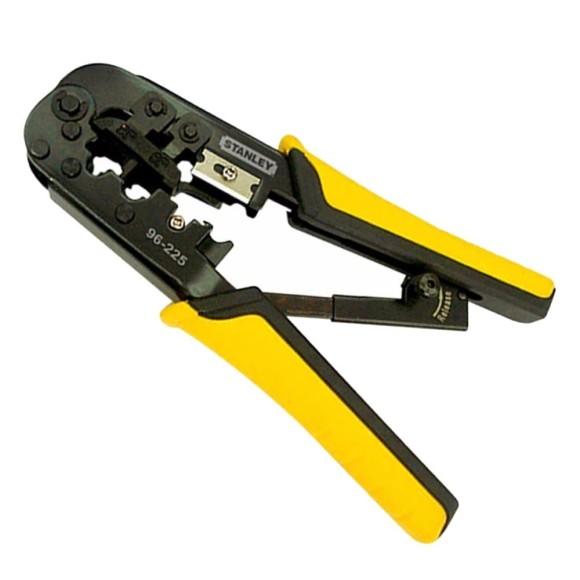 Alicate Automático Ajustável Desencapador e Crimpador de Fios 3 em 1 Stanley 96-225