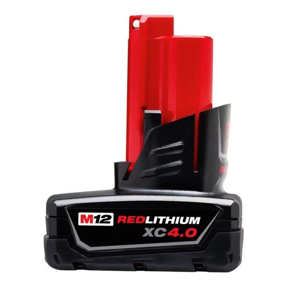 Bateria M12 XC 4.0 Amperes de Íons de Lítio Milwaukee