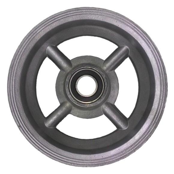 """Roda de Alumínio 8"""" x 70mm Capacidade 300KG"""