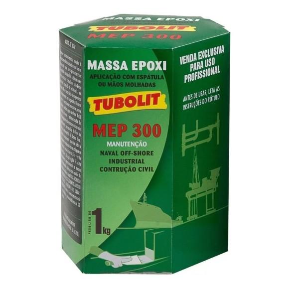 Massa Epóxi Poliamida de dois Componentes para uso geral MEP-300 - Tubolit