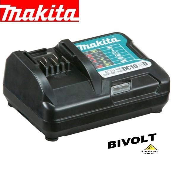 Carregador Bateria 12V MAX DC10WD 197342-2- Makita
