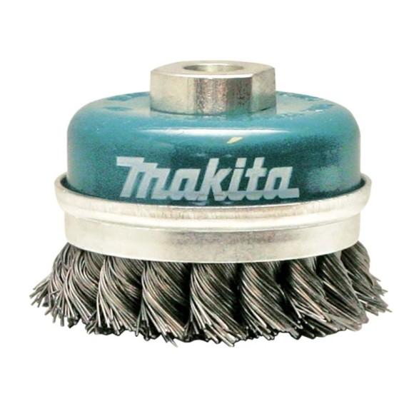 Escova de Aço Tipo Copo Trançado M14 100mm D-55223 -Makita