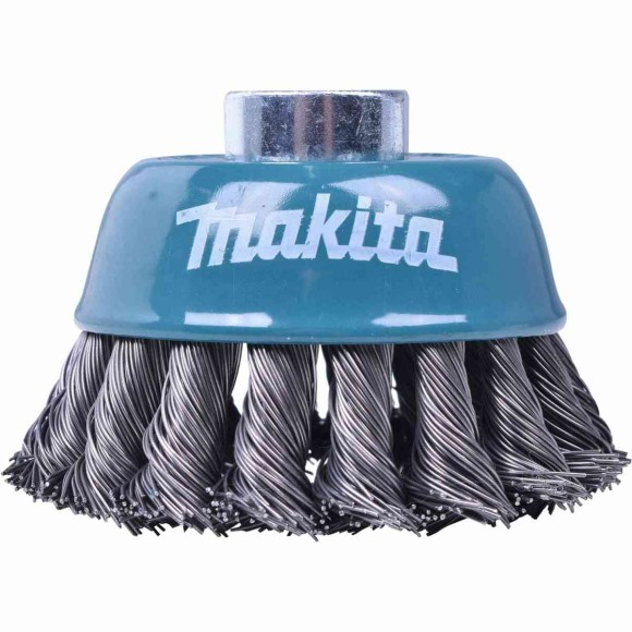Escova De Aço Tipo Copo 75mm Fio Trançado Makita - D55170