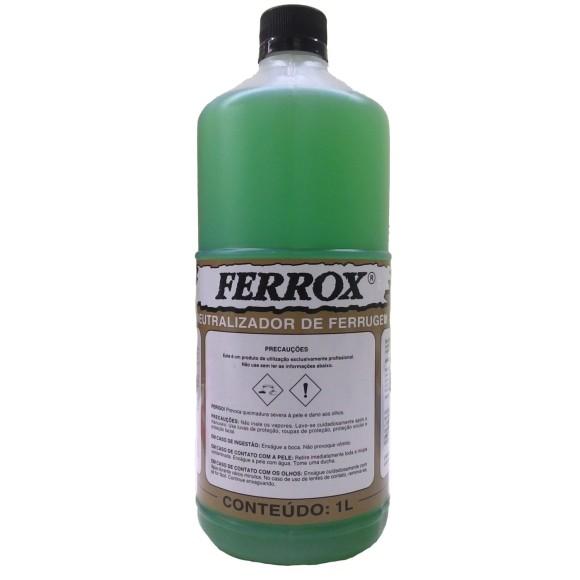 Neutralizador de Ferrugem Ferrox 1 Litro