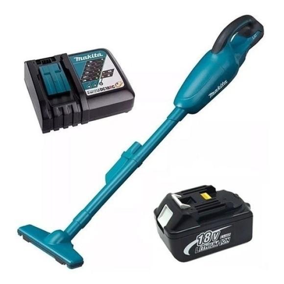 Aspirador de Pó Com Carregador e Bateria DCL180Z- Makita
