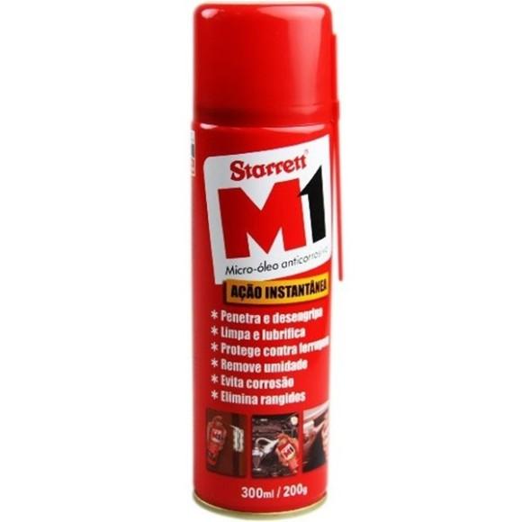 Micro Óleo Anticorrosivo Desengripante Spray M1 300ml STARRETT - M1300ML